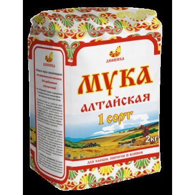 """Мука Пшеничная 1 сорт 2 кг Дивинка  от Экомаркет """"Овсянка"""""""