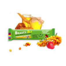 Низкоуглеводные ягодные конфеты с протеином Облепиха+клубника 63 гр Бьюти Фит