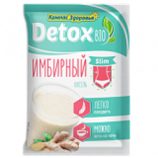 Кисель detox bio Slim Имбирный 25 гр Компас Здоровья