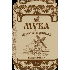 Мука Пшеничная Цельнозерновая 1 кг Дивинка