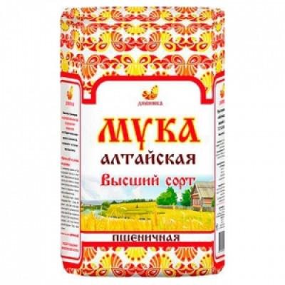 """Мука Пшеничная в/с 2 кг Дивинка  от Экомаркет """"Овсянка"""""""