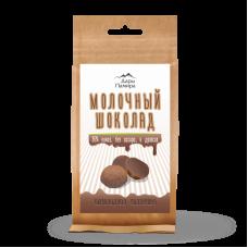 Молочный шоколад 36% без сахара в дропсах 92 гр Дары Памира