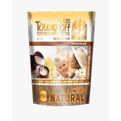 Каша из овсяного толокна с молоком Детская 250 гр Toloknoff