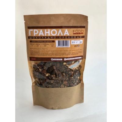 """Гранола Шоколадно-ореховая 250 гр Foodcraft  от Экомаркет """"Овсянка"""""""