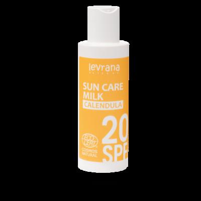 Молочко для тела Календула 20 SPF 150 мл Леврана