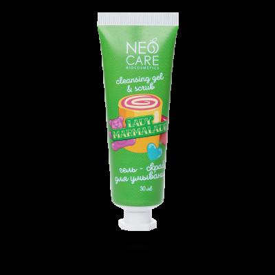 Neo Care Гель-скраб для умывания Lady marmalade 30 мл Леврана