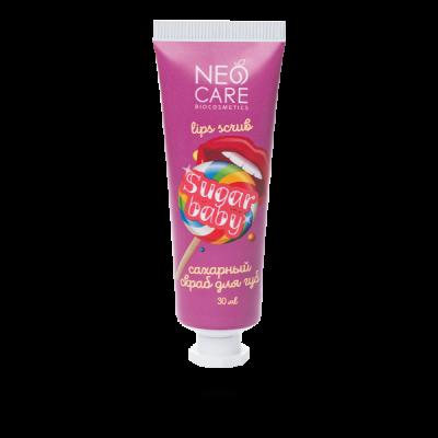 Neo Care Скраб для губ Sugar baby 30 мл Леврана