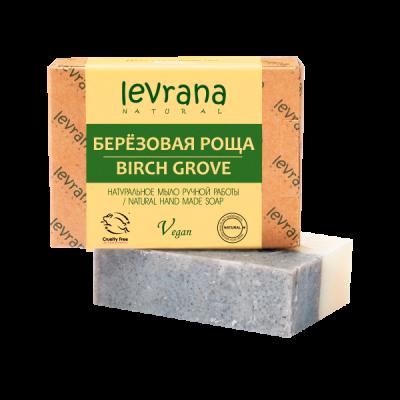 Натуральное мыло Березовая роща 100 гр Леврана