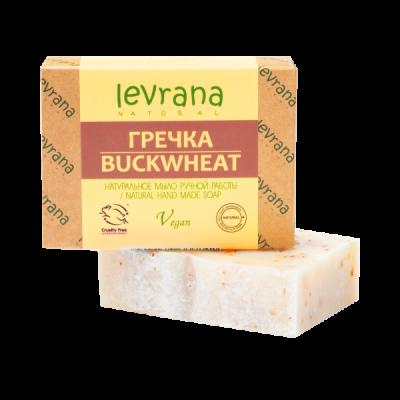 Натуральное мыло Гречка 100 гр Леврана