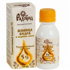Живица Кедровая 5% 100 мл Радоград