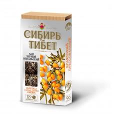 Сибирь-Тибет Черный чай с Облепихой и Саган Дайля 96 гр Иван Да