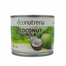 Молоко Кокосовое Econutrena 17% ж/б 200 мл Эконутрена
