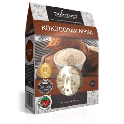 """Мука Кокосовая 500 гр Полеззно  от Экомаркет """"Овсянка"""""""