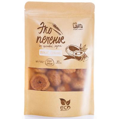 """Эко-печенье Кокос, шоколад 280 гр Савита  от Экомаркет """"Овсянка"""""""