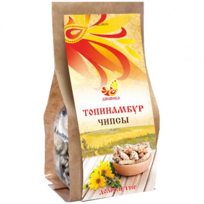 """Чипсы из Топинамбура 45 гр Дивинка  от Экомаркет """"Овсянка"""""""