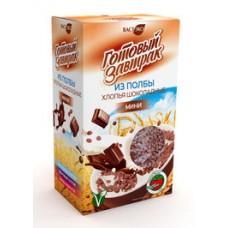 Готовый завтрак из Полбы Хлопья мини Шоколадные 200 гр ВастЭко