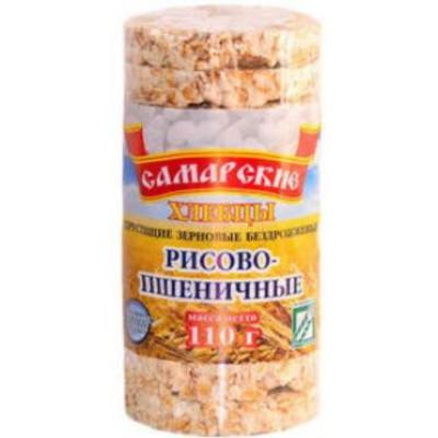 Хлебцы Самарские круглые Пшенично-Рисовые 110 гр