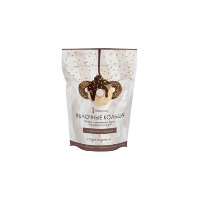 """Яблочные кольца в молочном шоколаде 100 гр Экофермер  от Экомаркет """"Овсянка"""""""