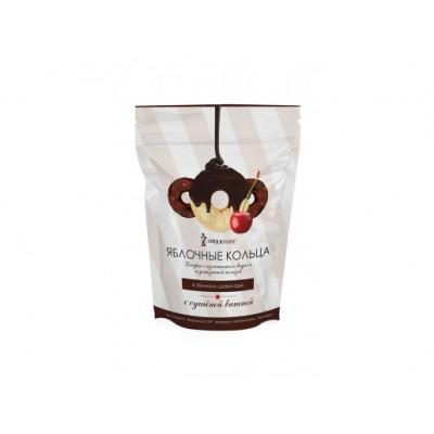 """Яблочные кольца в темном шоколаде с вишней  100 гр Экофермер  от Экомаркет """"Овсянка"""""""