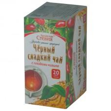 Чай черный со Стевией и Кизилом 20 ф/п Крымская стевия
