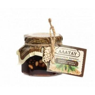 Варенье из Сосновой шишки с Кедровым орехом 130 гр Алатау