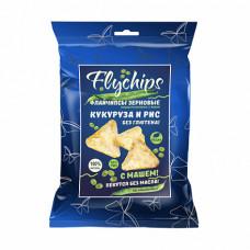 Флайчипсы кукурузно-рисовые с машем 40 гр