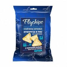 Флайчипсы кукурузно-рисовые с солью 40 гр
