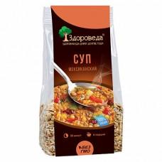 Суп Мексиканский с рисом и Кукурузой 250 гр Здороведа