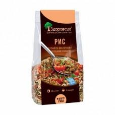 Рис бурый с Машем и овощами по Восточному 250 гр Здороведа