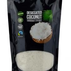 Кокосовая стружка органическая низкой жирности 250 гр Эконутрена