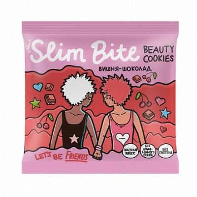 Печенье Slim Bite Вишня-Шоколад 115 гр Байт