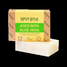 Натуральное мыло Алоэ 100 гр Леврана
