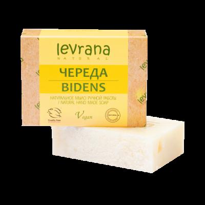 """Натуральное мыло Череда 100 гр Леврана  от Экомаркет """"Овсянка"""""""
