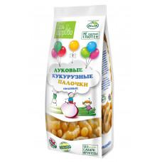 Кукурузные палочки  Луковые соленые 80 гр ЕшьЗдорово Умные Сладости