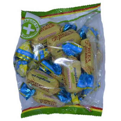 Конфеты Молочная Лимон на сорбите 200 гр Нева Престиж