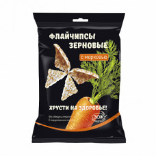 Флайчипсы зерновые с Морковью 40 гр