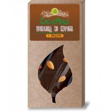 Шоколад из Кэроба необжаренного с Миндалем 85 гр Дары Памира