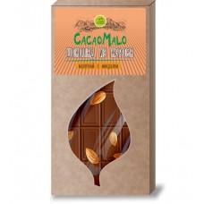 Шоколад Молочный из Кэроба необжаренного с Миндалем 85 гр Дары Памира