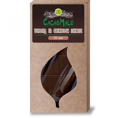 """Шоколад на Финиковом сиропе 75 гр  от Экомаркет """"Овсянка"""""""