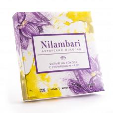 Шоколад Nilambari Белый на Кокосе с гречишным чаем 65 гр Гринмания