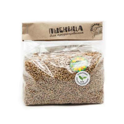 """Пшеница для проращивания 700 гр Поздний Завтрак  от Экомаркет """"Овсянка"""""""