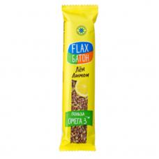 Флакс-Батон Лимон 30 гр Компас Здоровья