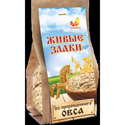 """Живые злаки Овес к/п 300 гр Дивинка  от Экомаркет """"Овсянка"""""""