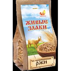 Хлопья Ржаные пророщенные к/п 300 гр Дивинка