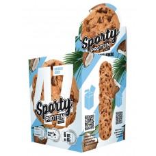 Печенье Sporty Protein Шоколад-Кокос 60 гр 6 шт/уп Спорти