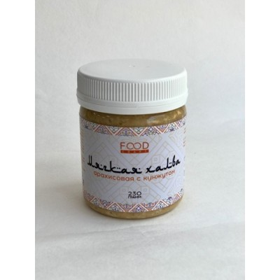 Халва Арахисовая с медом и кунжутом мягкая 230 гр Фудкрафт