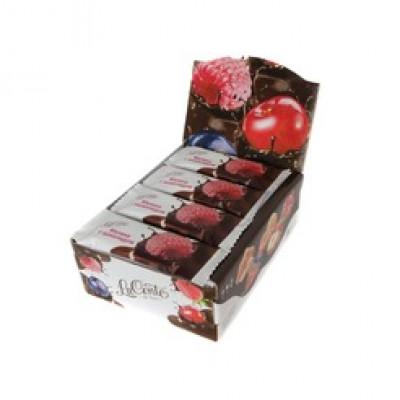 """Батончик La Conte de fess Малина с Шоколадом 30 гр  от Экомаркет """"Овсянка"""""""