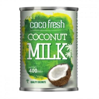 """Молоко Кокосовое Coco Fresh Econutrena 18 % ж/б 400 мл Эконутрена  от Экомаркет """"Овсянка"""""""