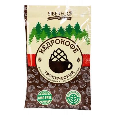 Кедро-кофе порционный Тропический 25 гр Сибереко