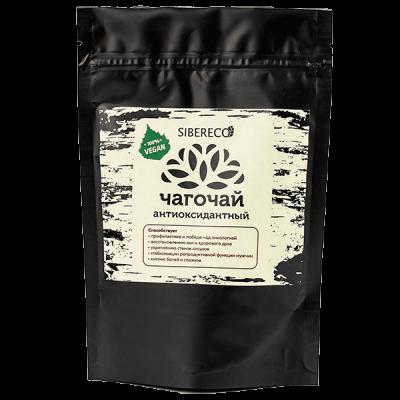 Чага-чай Антиоксидантный 100 гр Сибереко